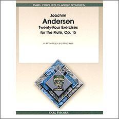 【輸入楽譜】アンデルセン, Joachim: 24の練習曲 Op.15 [ アンデルセン, Joachim ]