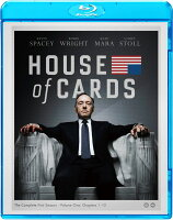 ハウス・オブ・カード 野望の階段 SEASON 1 ブルーレイ コンプリートパック 【Blu-ray】