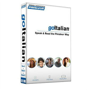 Pimsleur Goitalian Course - Level 1 Lessons 1-8 CD: Learn to Speak, Read, and Understand Italian wit PIMSLEUR GOITALIAN COURSE - 4D (Simon & Schuster's Pimsleur) [ Pimsleur ]