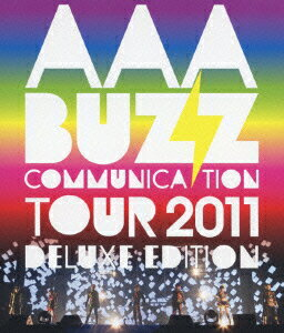 AAA BUZZ COMMUNICATION TOUR 2011 DELUXE EDITION 【Blu-ray】画像