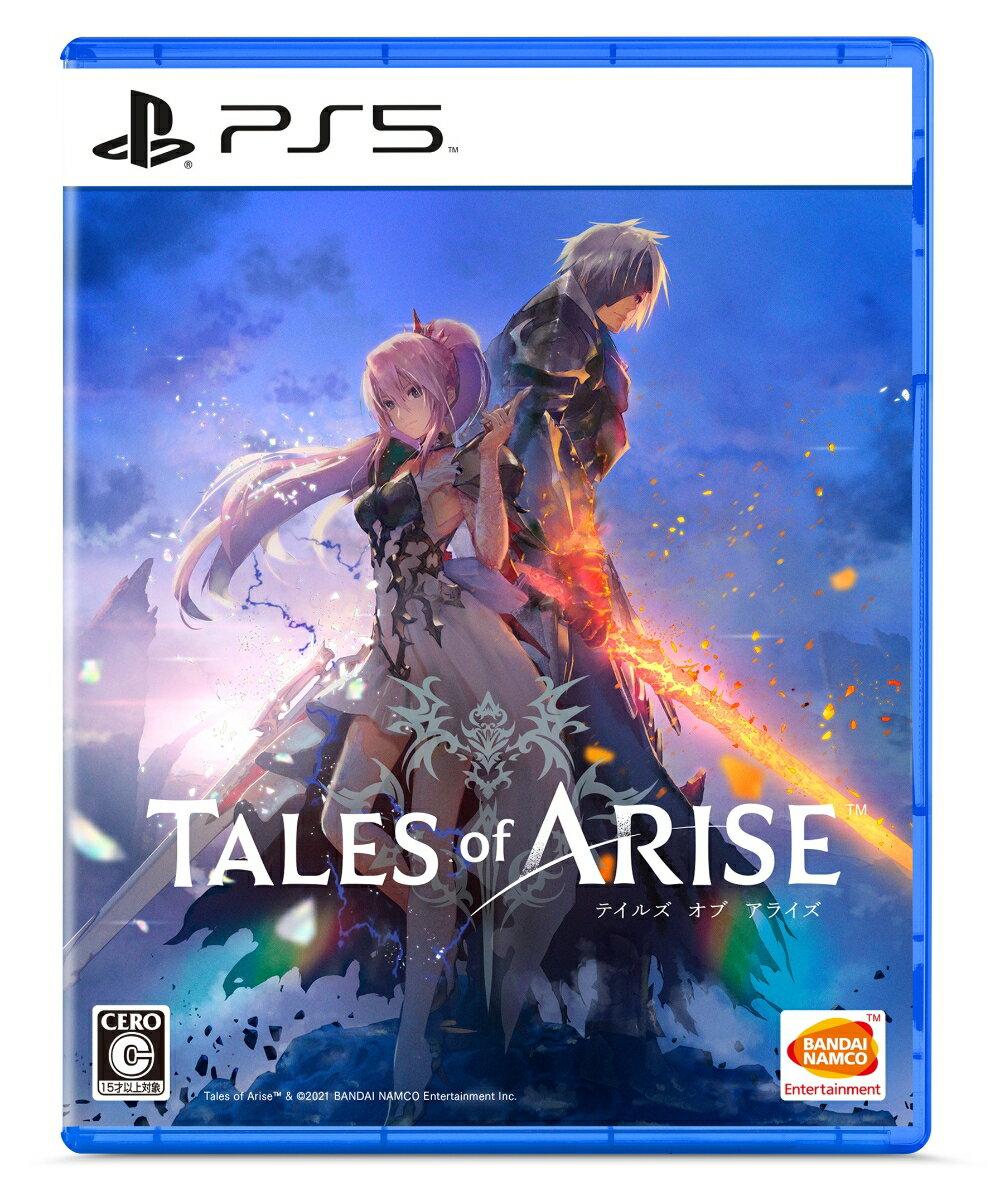 【特典】Tales of ARISE PS5版(【早期購入封入特典】ダウンロードコンテンツ4種が入手できるプロダクトコード)