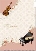 3ポケットクリアファイル 〜Fun Music〜 (5枚セット)