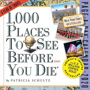 1,000 Places to See Before You Die Page-A-Day Calendar 2020 CAL-2020 1000 PLACES TO SEE CO [ Patricia Schultz ]