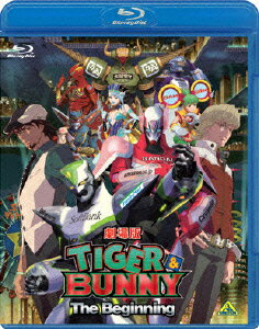 劇場版 TIGER & BUNNY -The Beginning- 【通常版】【Blu-ray】画像