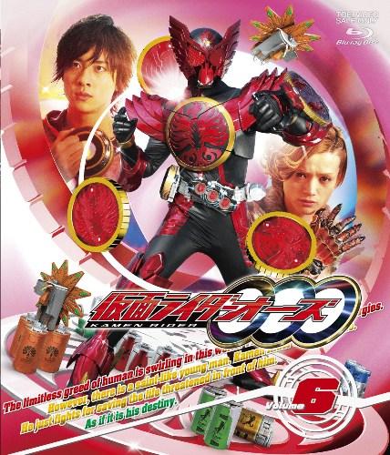 仮面ライダーOOO Volume 6【Blu-ray】画像