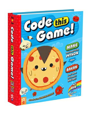 Code This Game!: Make Your Game Using Python, Then Break Your Game to Create a New One!画像
