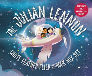 Julian Lennon White Feather Flier Set BOXED-JULIAN LENNON WHITE FEAT (Julian Lennon's Children's Adventures) [ Julian Lennon ]