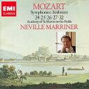 CLASSIC名盤 999 BEST  MORE 第1期::モーツァルト:交響曲 第24番/第25番/第26番 第27番/第32番 [ ネヴィル・マリナー ]