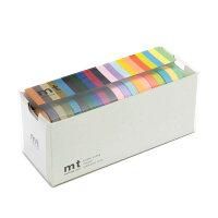 カモ井加工紙 mt 20色セット(明るい色2・渋い色2) 7mm幅×10m巻き MT20P0002