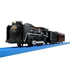 プラレール S-28 ライト付D51 200号機蒸気機関車