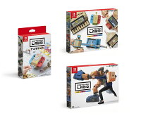 Nintendo Labo Toy-Con 01: Variety Kit + Toy-Con 02: Robot Kit+デコるセット