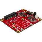 ラズベリーパイ用USB - mSATA変換基板 ラズパイ電子工作/開発用ボード