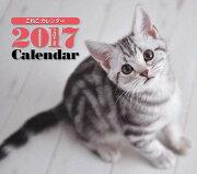 2017年ミニカレンダー こねこ