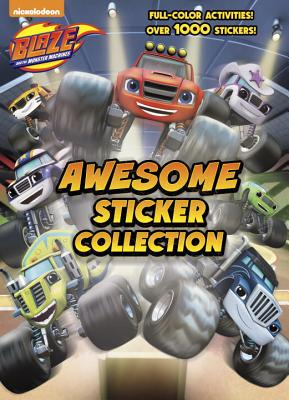 Blaze and the Monster Machines Awesome Sticker Collection (Blaze and the Monster Machines)画像