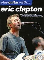 【輸入楽譜】プレイ・ギター with エリック・クラプトン 第1巻 CD付ギター・タブ譜