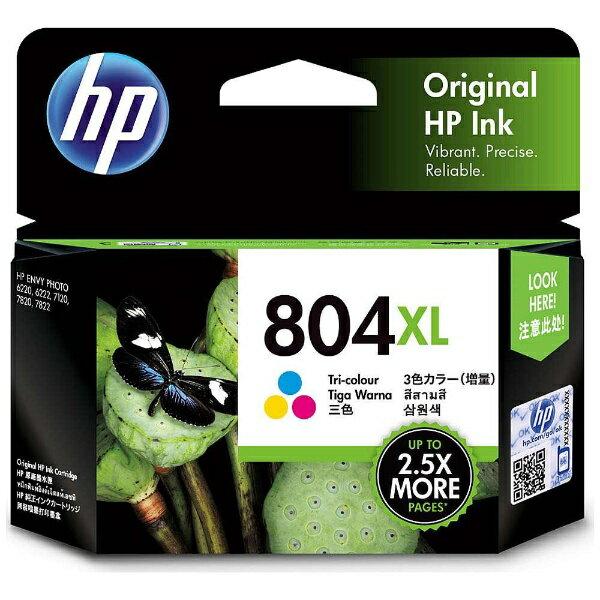 HP 804XL インクカートリッジ カラー(増量)