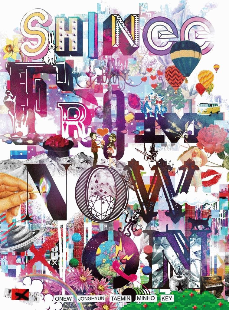 SHINee THE BEST FROM NOW ON (完全生産限定盤A 2CD+Blu-ray)画像