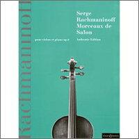 【輸入楽譜】ラフマニノフ, Sergei: サロン風小品集 Op.6