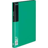 コクヨ クリアファイル ベーシック A4 40枚 緑 ラーB40G