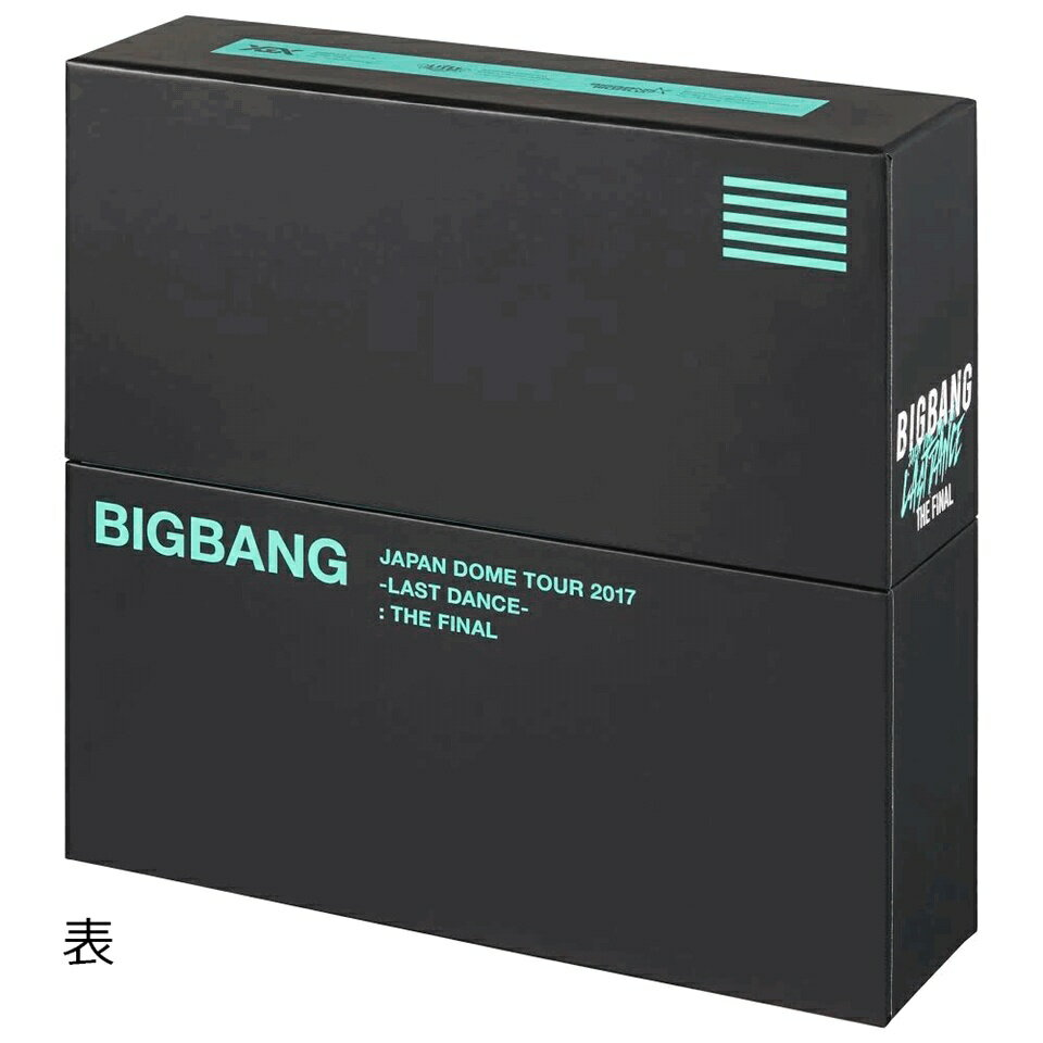 BIGBANG JAPAN DOME TOUR 2017 -LAST DANCE- : THE FINAL(Blu-ray Disc7枚組+CD2枚組 スマプラ対応+PHOTO BOOK)(初回生産限定盤)【Blu-ray】