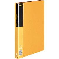 コクヨ ファイル クリアファイル ベーシック A4 40ポケット 黄 ラーB40Y