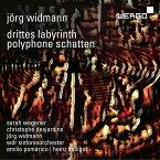 【輸入盤】『対位法的陰影』『第三の迷宮』 ハインツ・ホリガー&ケルンWDR交響楽団、クリストフ・デジャルダン、サラ・ウェゲナー、他 [ ヴィトマン、イェルク (1973-) ]