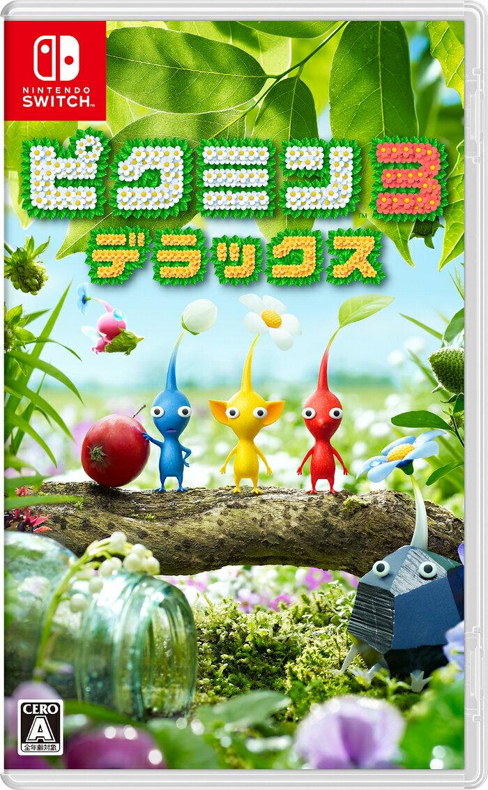 【楽天ブックス限定特典】ピクミン3 デラックス(オリジナルクリーナーストラップ3種セット)