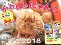 かわいいにゃんこみんないっしょカレンダー(2018)