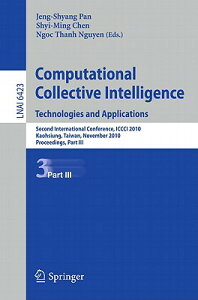 Computational Collective Intelligence. Technologies and Applications: Second International Conferenc COMPUTATIONAL COLLECTIVE INTEL [ Jeng-Shyang Pan ]