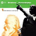 ブラームス:交響曲 第1番 ハイドンの主題による変奏曲 他 [ ヴィルヘルム・フルトヴェングラー ]