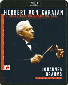 カラヤンの遺産 ブラームス:交響曲第1番&第2番【Blu-ray】