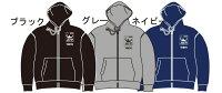 【楽天ジャパンオープン】ジップパーカー グレー【Mサイズ】