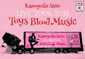 KAZUYOSHI SAITO LIVE TOUR 2018 Toys Blood Music Live at 山梨コラニー文化ホール 2018.6.2【Blu-ray】