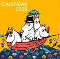 ムーミン壁掛けカレンダー オレンジ