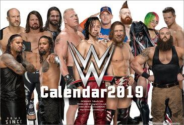 卓上 WWE(2019年1月始まりカレンダー)