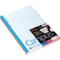 コクヨ キャンパスノート A4 カラー A罫 表紙 5色パック ノー203CAX5