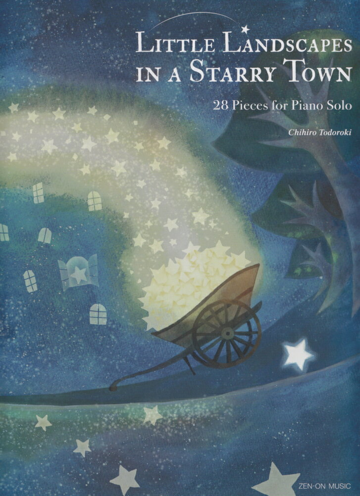 Little Landscapes in a Starry Town画像