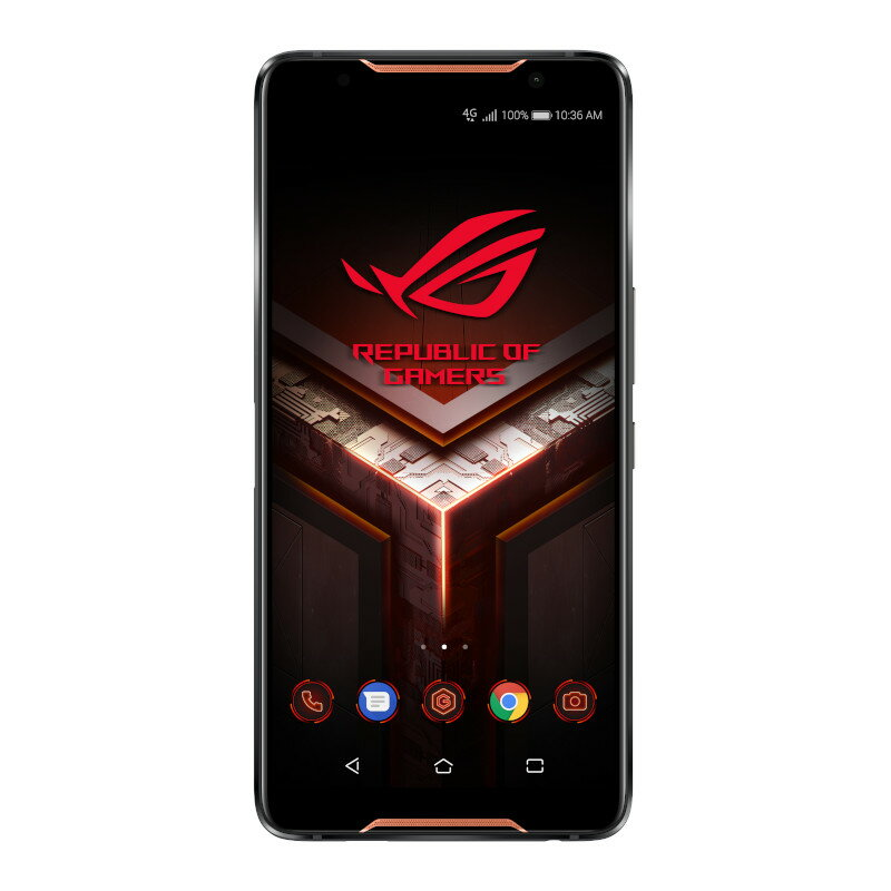 "〈ROG Phone Series〉ブラック ゲーミングPhone/6.0""2160x1080 (FHD+)/Android 8.1/Qualcomm Snapdragon 845"