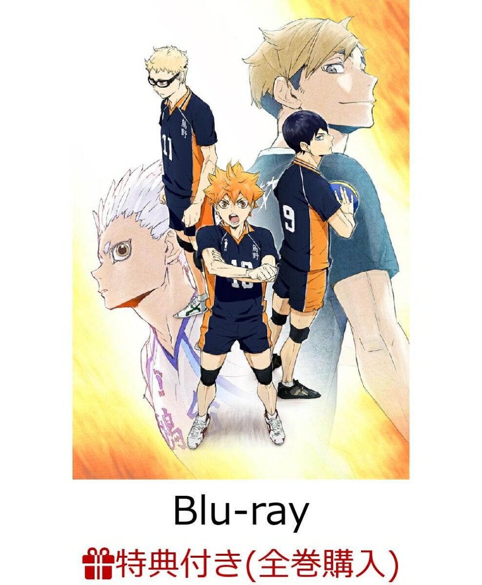 【4〜6巻連動購入特典対象】ハイキュー!! TO THE TOP Vol.6 Blu-ray 【初回生産限定版】【Blu-ray】