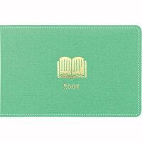 キングジム 日記帳 ノリ付きメモ 暮らしのキロク ブック 3000エメ