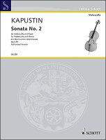 【輸入楽譜】カプースチン, Nikolai: チェロ・ソナタ 第2番 Op.84
