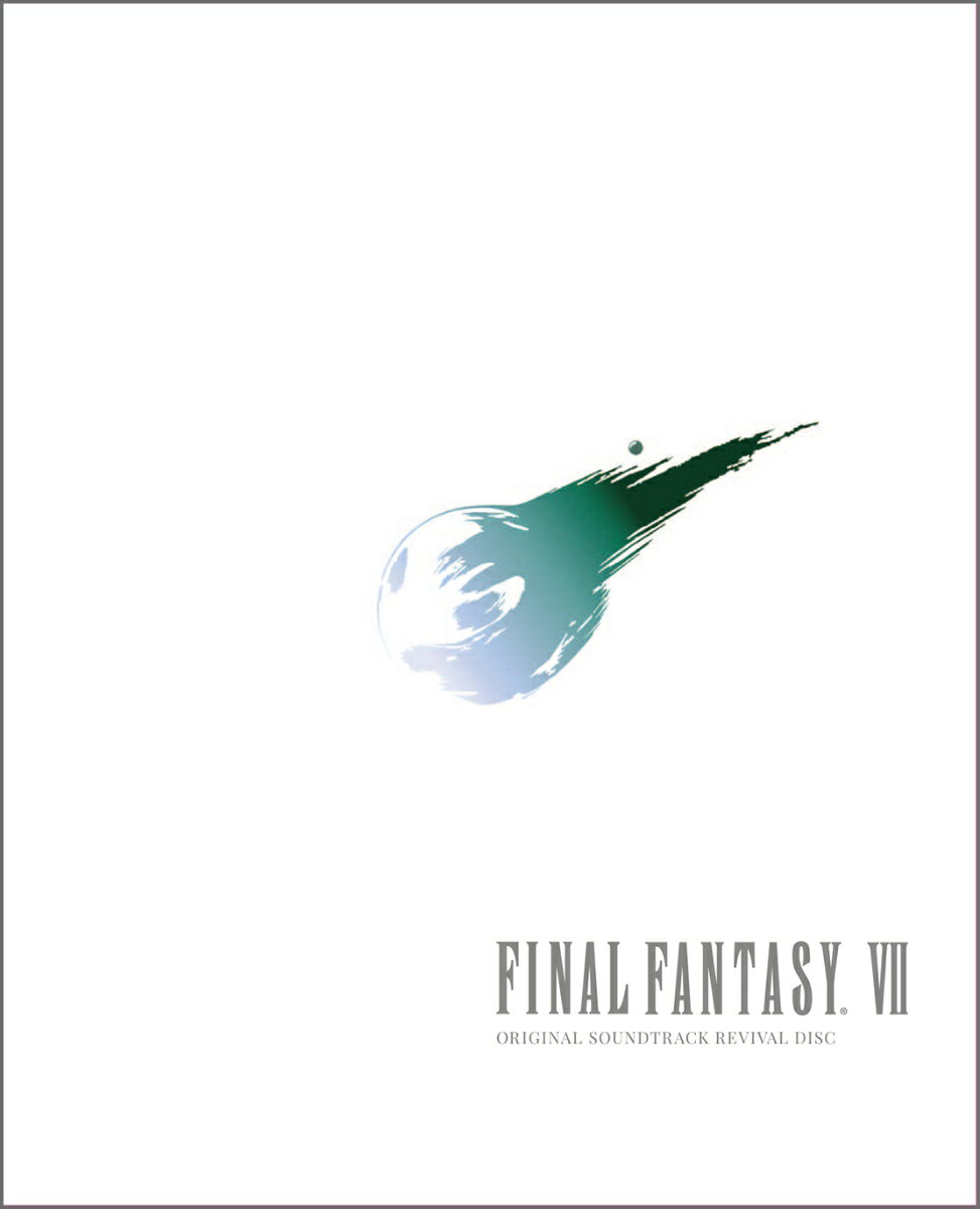 FINAL FANTASY VII ORIGINAL SOUNDTRACK REVIVAL DISC(映像付サントラ/Blu-ray Disc Music)画像