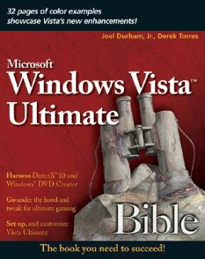 Windows Vista Ultimate Bible WINDOWS VISTA ULTIMATE BIBLE (Bible (Wiley)) [ Joel Durham, Jr. ]