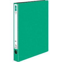 コクヨ ファイル リングファイル ER A4 縦 220枚 2穴 緑 フーUR430NG