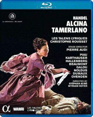 【輸入盤】Alcina, Tamerlano: Audi Rousset / Les Talens Lyriques Piau Karthauser Hallenberg画像