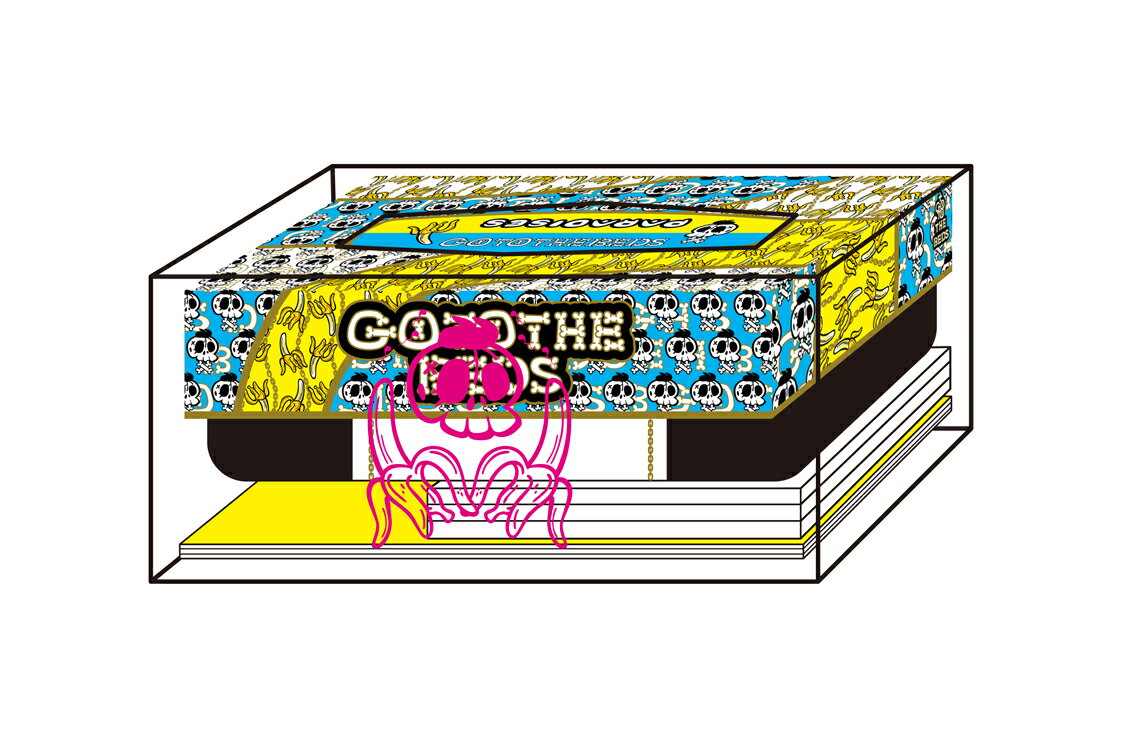【先着特典】GO TO THE BEDS & PARADISES -LUXURY TISSUE BOX-(完全生産限定盤 2CD+Blu-ray) (GO TO THE BEDS & PARADISES缶バッヂ2個セット)画像