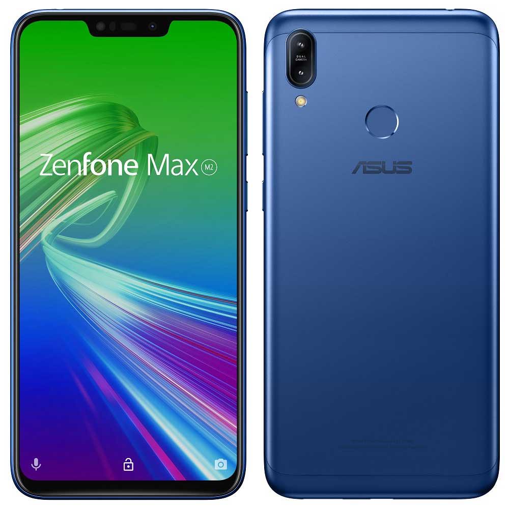 ZenFone Max M2 スペースブルー ZB633KL-BL32S4