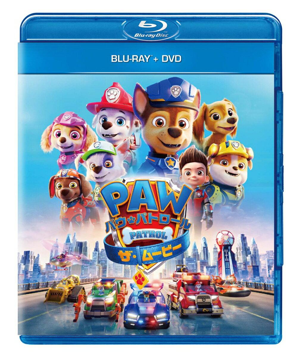 パウ・パトロール ザ・ムービー ブルーレイ+DVD【Blu-ray】