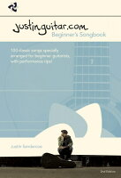 【輸入楽譜】Justinguitar.com Beginner's Songbook-2nd Edition(Spiral Bound)