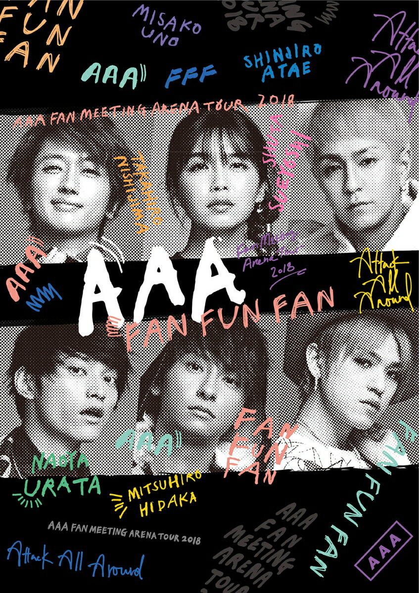 AAA FAN MEETING ARENA TOUR 2018 ~FAN FUN FAN~(スマプラ対応)【Blu-ray】